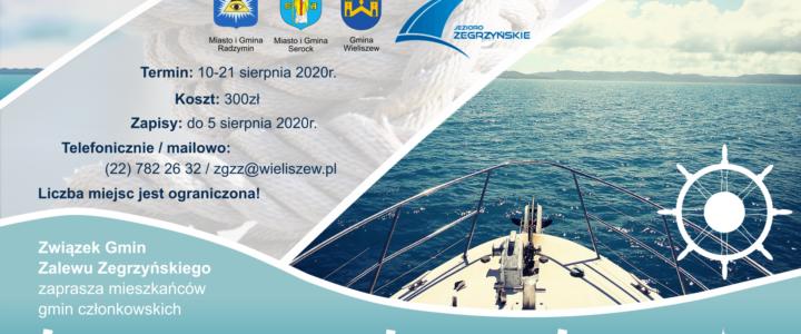 Kurs żeglarski dla dorosłych i młodzieży