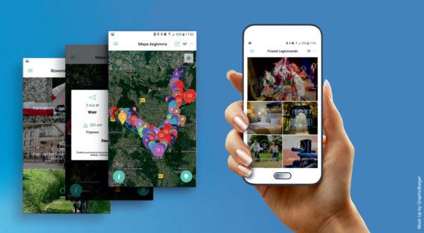 Mobilna aplikacja turystyczna Powiat Legionowski
