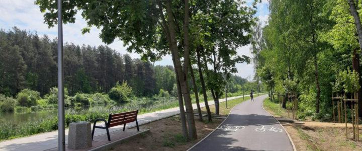 Nowa trasa rowerowa w gminie Nieporęt