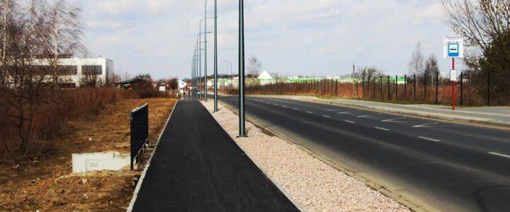 Nowa ścieżka rowerowa w Jabłonnie